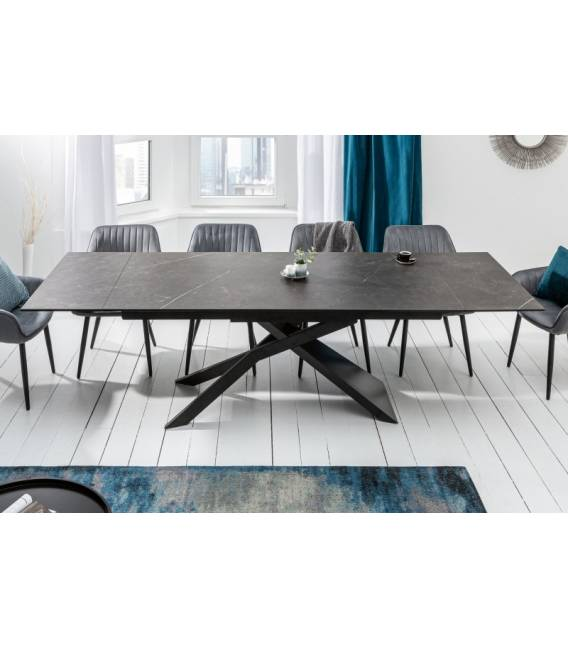 Išskleidžiamas stalas 40645 180(260)x90 pilka
