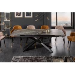 Išskleidžiamas stalas 40644 EUPHORIA 180(220/260)x90x77 marmuro