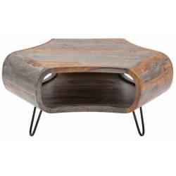 Kavos staliukas ORGANIC 70x38 medinis