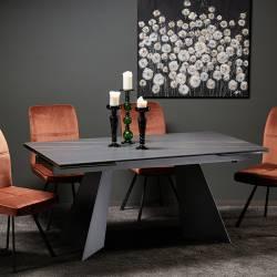 Išskleidžiamas stalas DORIANO 160(240)x90x76 pilkas