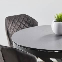 Išskleidžiamas stalas FIORE Ø110(155)x75