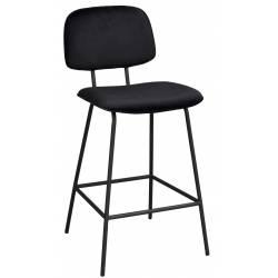 Pusbario kėdė BRYAN VIC juoda