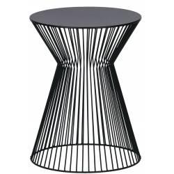 Šoninis staliukas SUUS Ø35 juodas