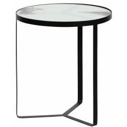 Šoninis staliukas FLY juodas