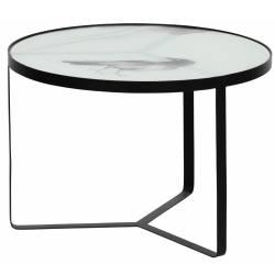 Kavos staliukas FLY Ø55 juodas