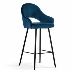 Pusbario kėdė POLA mėlyna