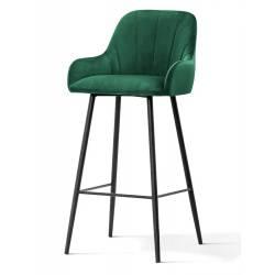 Pusbario kėdė TULA VIC žalia