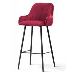 Pusbario kėdė TULA VIC raudona