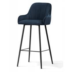 Pusbario kėdė TULA VIC tamsiai mėlyna