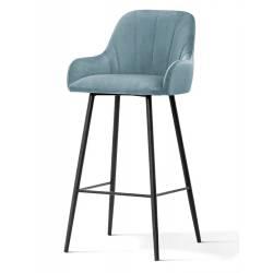 Pusbario kėdė TULA VIC melsvai pilka
