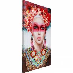 Paveikslas Red Eye Lady 90x140