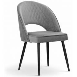 Kėdė ETNO-GL tamsiai pilka