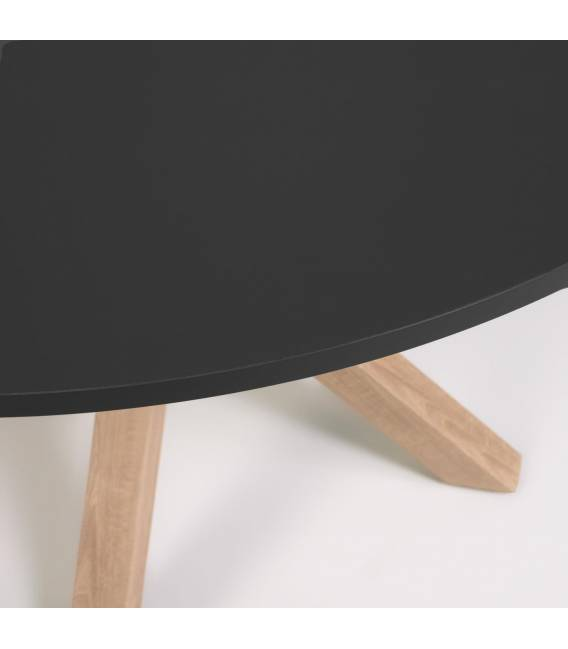 Apvalus stalas FULL ARGO Ø119 juodas