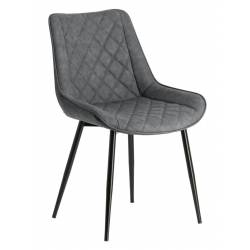 Kėdė AFFAIR PU pilka