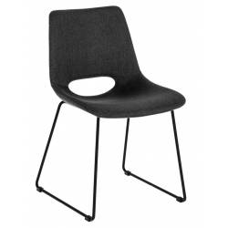 Kėdė ZIGGY tamsiai pilka