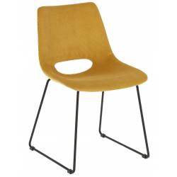 Kėdė ZIGGY VELVET garstyčių
