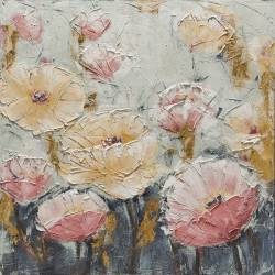 Paveikslas FLOWERS IN BLUE 100x100