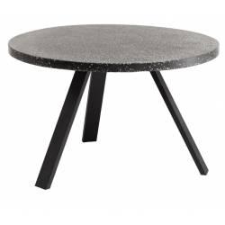 Apvalus stalas SHANELLE Ø120 juodas