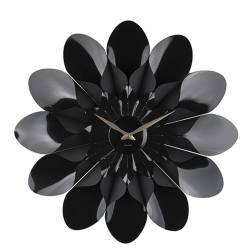 Laikrodis FLOWER juodas