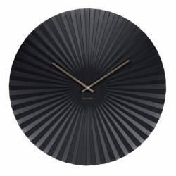 Laikrodis SENSU XL Ø50 juodas