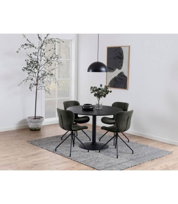 Apvalus stalas 20291 Ø110 juodas
