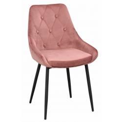 Kėdė ALBERTON VIC rožinė