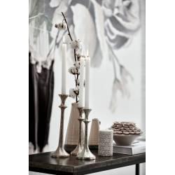 Vaza STINA peony H12 sidabrinė