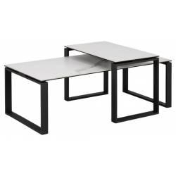 Kavos staliukas 20492 115x69 baltas