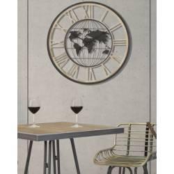 Laikrodis DA MURO WORLD DARK Ø70