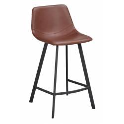 Pusbario kėdė AUBURN ruda