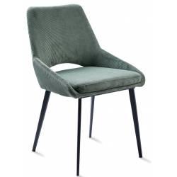 Kėdė DAISY VELVET žalia