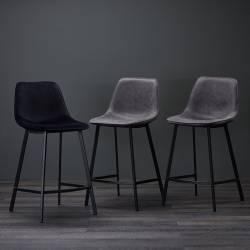 Pusbario kėdė RIMINI grafito