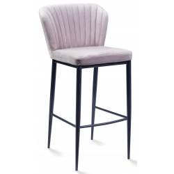 Pusbario kėdė ROMINA VIC šviesiai pilka