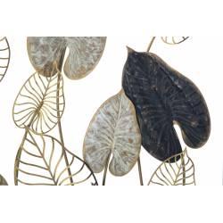 Dekoracija CENTURY 100x66 rudi ir juodi lapai