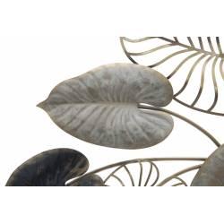 Dekoracija FERRO CENTURY 131X61 metaliniai lapai