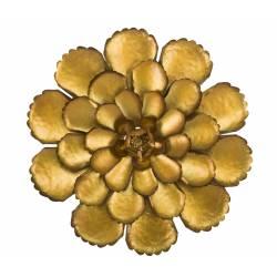 Dekoracija FIORE 64X5,5 auksinė metalinė gėlė
