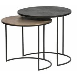 Šoninių staliukų komplektas FARA Ø55/Ø49 (2 vnt.)