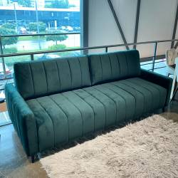 Sofa lova MOLINA VIC 226x101 žalia