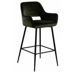 Pusbario kėdė RANJA VIC alyvuogių žalia