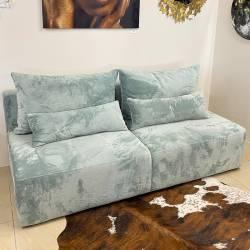 Sofa-lova PIPER 198x93 mėtinė