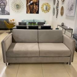 Sofa-lova JOY 182x95 VIC pilkai ruda