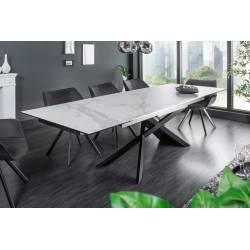 Išskleidžiamas stalas EUPHORIA 180(220/260)x90x77 baltas