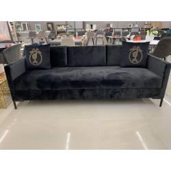 Sofa-lova LEAKNES 214x83 antracito