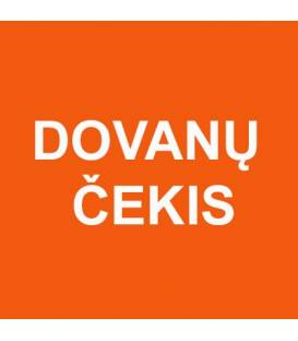 DOVANŲ ČEKIS