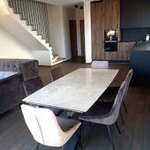 Dar viena puiki kompozicija! 🥰 Stalas - ARTISTICO ir kėdės - TOSCA. #accantobaldai #baldai #interjeras #interjerodizainas #namai #namams #idejosnamams #stalas #valgomasisstalas #valgomojobaldai #kede #kėdės #baldaiinternetu #svetaine #svetainesbaldai #klientuatsiliepimai #dizainas #stilius Už nuotrauką dėkojame klientei Rasai! ❤️