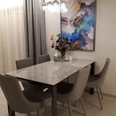 Dar vienas puikus interjeras, kuriuo dalinasi mūsų nuostabūs klientai ❤️ Ačiū Jolitai 🔆🌻 #accantobaldai #baldai #baldainamams #baldaiinternetu #stilius #stilingi #namai #namustilius #dizainas #stalas #stalai #kėdės #kėdė #valgomojobaldai #valgomasis #balduidejos #išskirtinisdizainas #jums @tuttieduefurniture