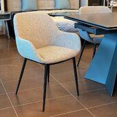 Žavingas krėsliukas - KONNA. 🥰 #accantobaldai #baldai #namams #idejosnamams #ikvepimas #kedes #krėsliukas #valgomasis #valgomojobaldai #stilius #dizainas #interjerodetales #pilkaspalva