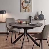 Išskleidžiamas valgomojo stalas - HAYDEE 120(160)x76 🥰 #accantobaldai #baldai #stalas #valgomojostalas #valgomasis #valgomasisstalas #apvalusstalas #interjeras #baldaiinternetu #modernusdizainas #modernusbaldai #dizainas #stilius #namai #namams #idejosnamams #idejos #ikvepimas #isskirtiniainamai #stalai