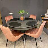 Klientė mums rašo ,,Esu laiminga.. labai! ''🥰 Dėkojame už nuotraukas! ❤️ Stalas FIORE ir kėdės TOSCA. 🌻👌 #accantobaldai #baldai #namai #interjeras #klientunuotraukos #idejos #idejosnamams #ikvepimas #baldaiinternetu #baldusalonas #dizainas #stilius #stalas #apvalusstalas #kedes #ikvepimas #pilka #rožinė #valgomasis #valgomojobaldai #valgomojostalas #valgomojokedes #valgomasisstalas #atsiliepimai