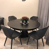 Dėkojame klientams už galimybę DALINTIS nuotraukomis! ❤️ #stalas OREL 🤩 #kėdės BONNY 👌 #accantobaldai #baldai #baldusalonas #baldudizainas #interjeras #namai #klientuatsiliepimai #jaukumas #jaukusnamai #modernusbaldai #modernusdizainas #tuttieduefurniture #valgomojostalas #valgomasis